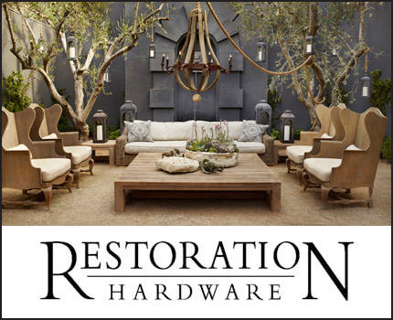 A Special Treat for Lovers of Great Style…Restoration Hardware ...
