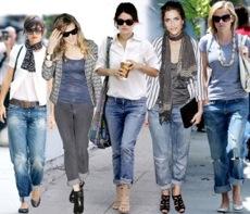Chic Find……Denim Trend, the Boyfriend Jean