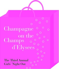 Chic Happening….Champagne on the Champs d'Elysees