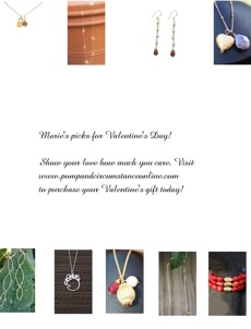 Chic Finds………Pomp and Circumstance for V-Day