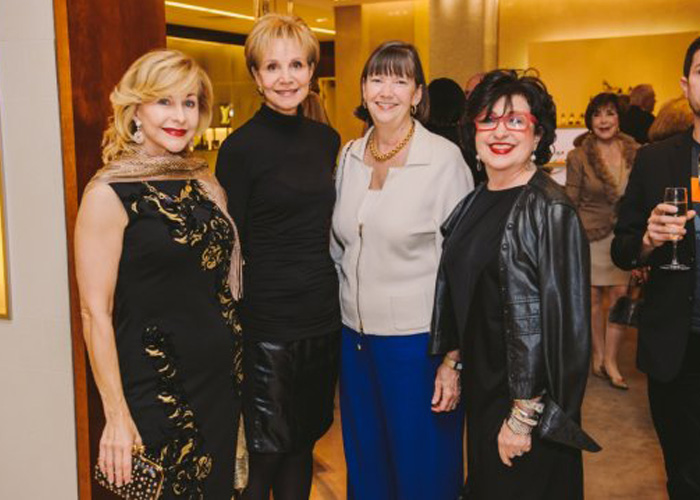 Image of Roz, Leisa Holland Nelson, etc. at Kick-off of Passion for Fashion Luncheon at Saks, of which I am on Host Committee