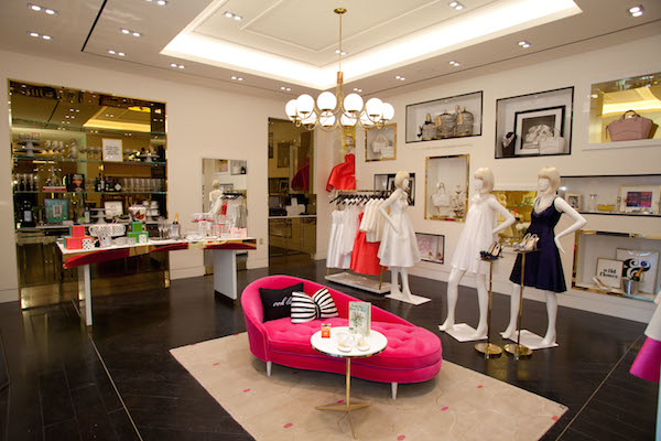 Kate Spade Brings Flagship Store Houston on Clothing Store Interior Design