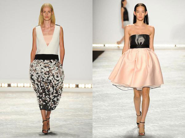 Monique Lhuillier Spring 2015 Fashions Available at Tootsies Trunk ...
