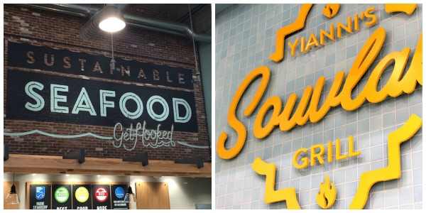 Whole foods market on post oak opens today with many for Fresh fish market houston