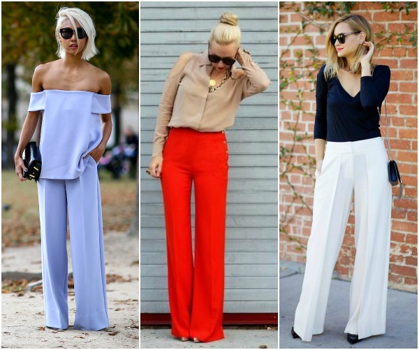 Culottes, Wide Leg Trousers, and Flare Jeans...Springs Coolest ...