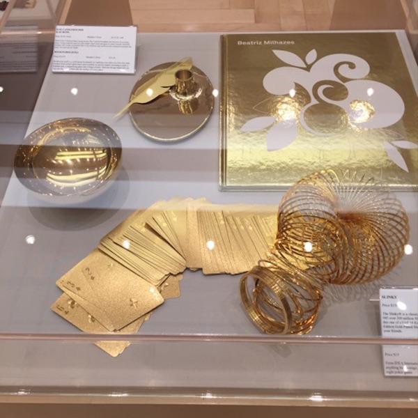 MFAShop gold slinky case