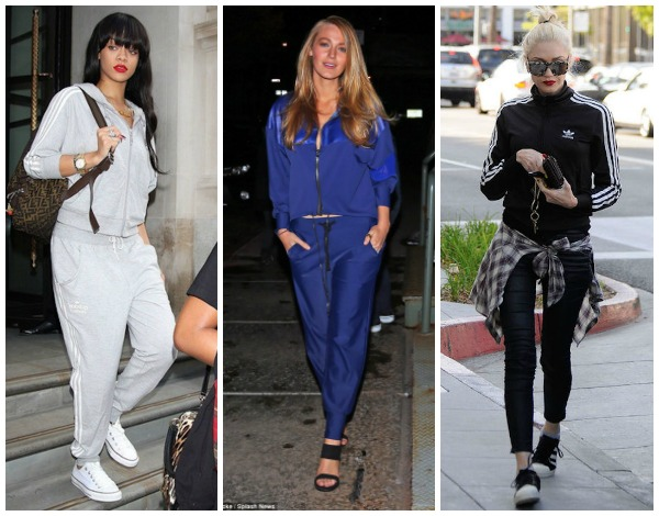 tracksuit collage