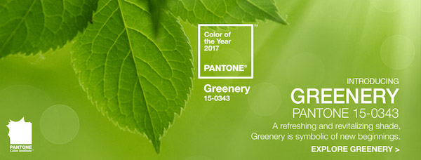Pantone Color Of The Year 2017 Greenery 15