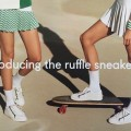 Tory Burch ruffle sneaker