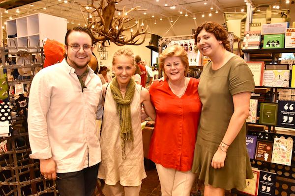 Colby Goetschius, Pam Kuhl-Linscomb, Elsie Woodruff, Alyssa Schmalenberger