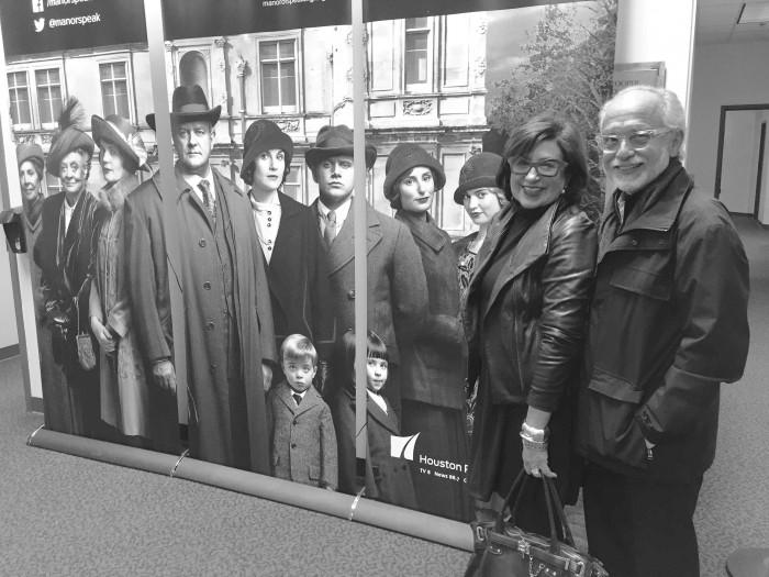 Dec 16, w-Downtown Abbey cast at final screening