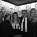 Dec 20 Nanette Lepore, Jen Pinto, Janine Sharell and Steve Tyrel, Carlyle NYC
