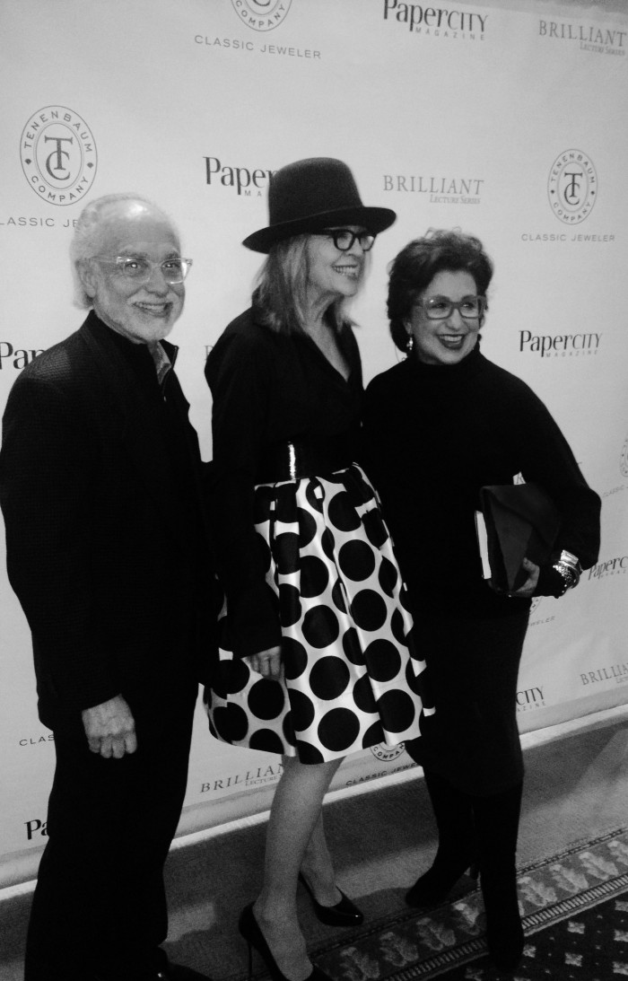 Feb 06 with Diane Keaton in Houston