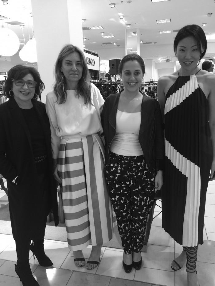 Nov 19 with Tibi designer, AimeeAmy Smilovic