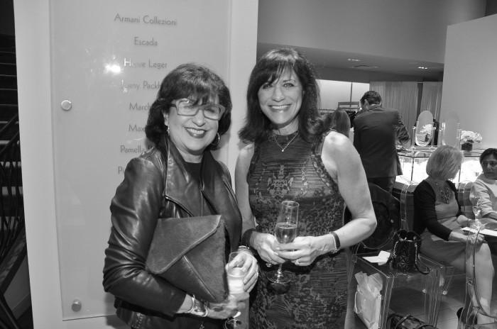 Roz Pactor and Ilene Allen,Eliz Anthony Heart event