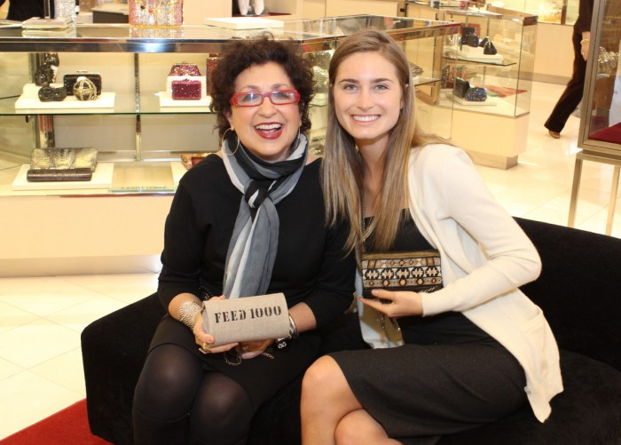 Roz Pactor Lauren Bush Lauren Feed Project PA at Neiman Marcus