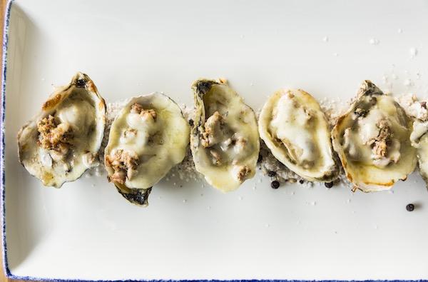 Starfish - Hot Smoked Gulf Oysters