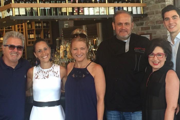 Taverna Opening with Steve Tyrell Janine Sharel andTiziano