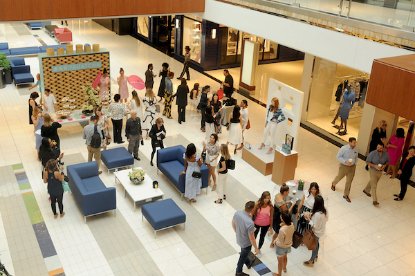 *Local Influencers gather at the Galleria VI event; Photo credit by Dave Rossman