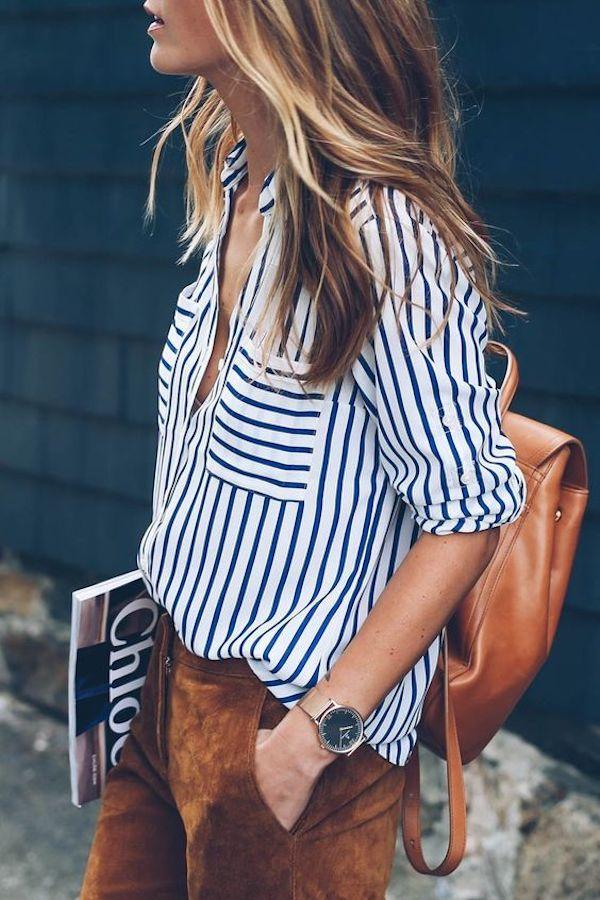 Stripes_StylishWomenOutfits