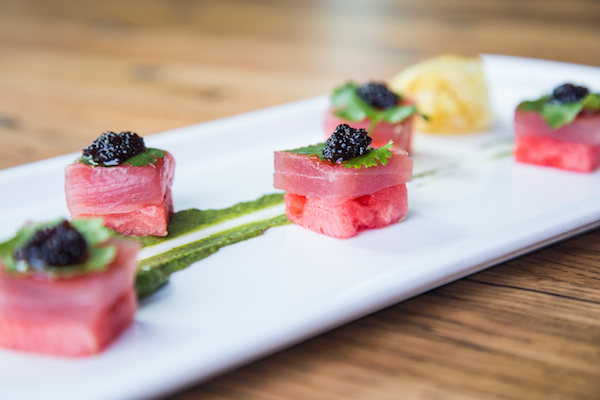 Watermelon Tuna Sashimi