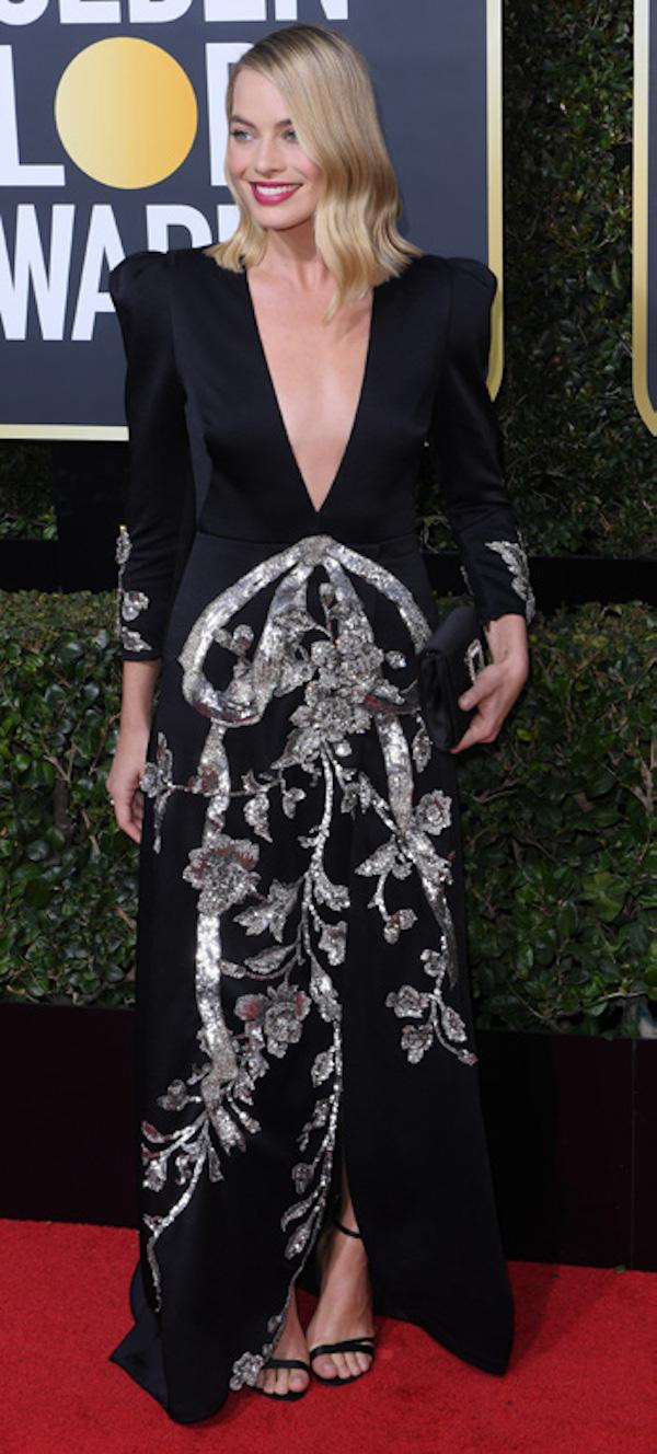 *GG2018-Margot Robbie in Gucci