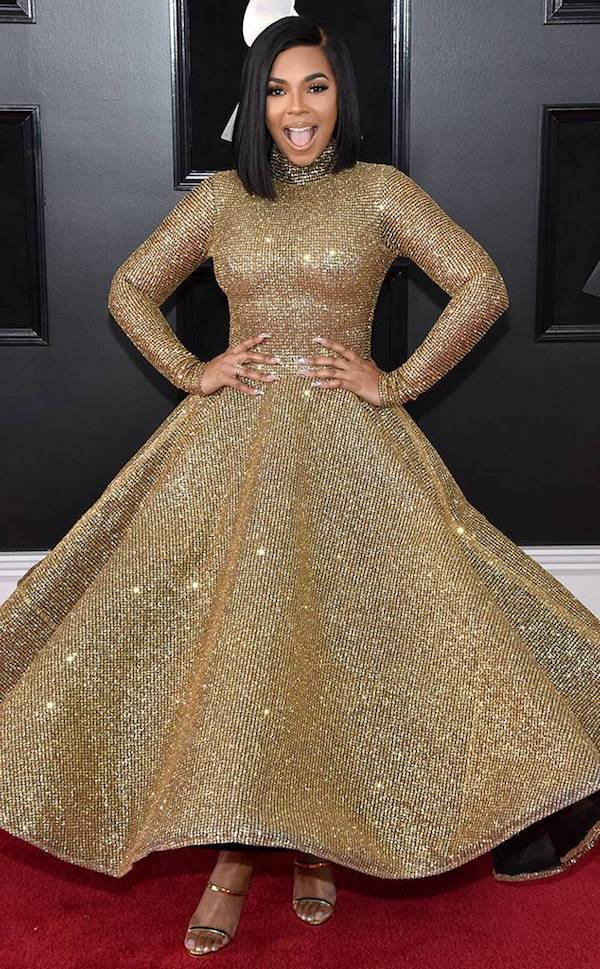 ashanti getty in yas couture eonline