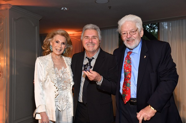 Joan Schnitzer Levy, Steve Tyrell and Gerald Franklin