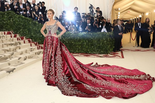 Blake Lively wearing Versace. Damon Winter:The New York Times