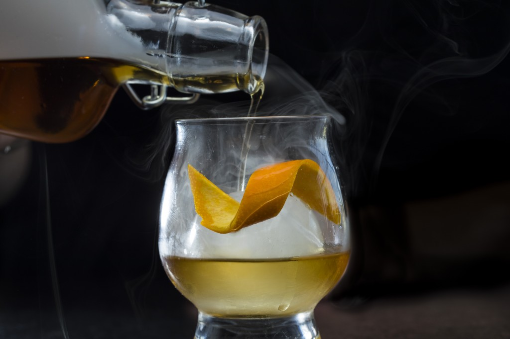 *Smoked Old Fashioned 2