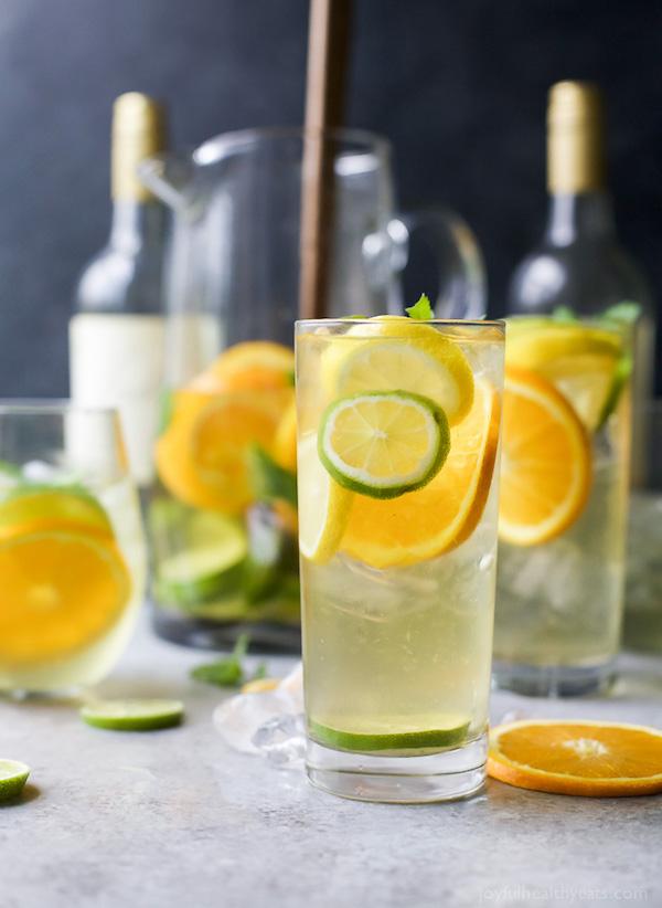 Easy Citrus White Wine Sangria
