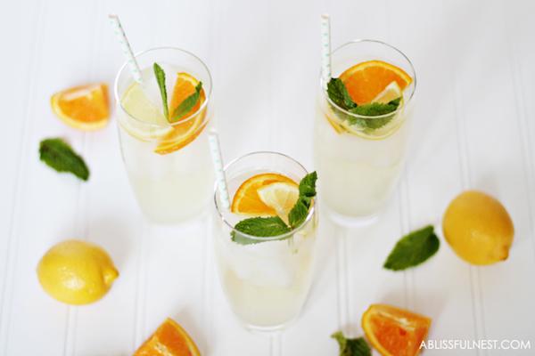 Orange Lemonade Punch